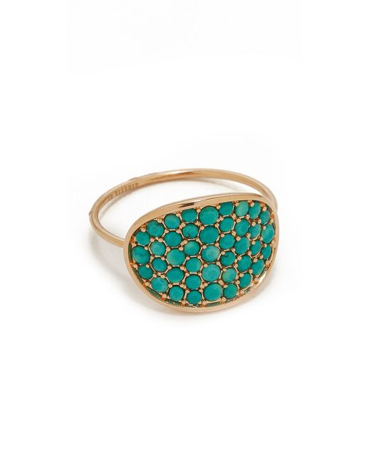 Ginette NY | Blue Fallen Sky Large Sequin Ring | Lyst