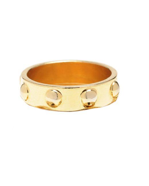Jill Golden | Metallic Corfu Ring | Lyst