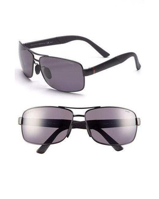 70f27da1606 Gucci Polarized 63mm Sunglasses « Heritage Malta