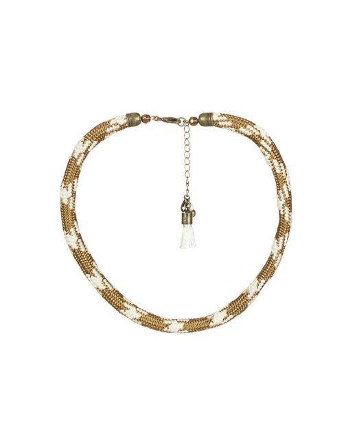 Sessun | Metallic Necklace / Longcollar | Lyst