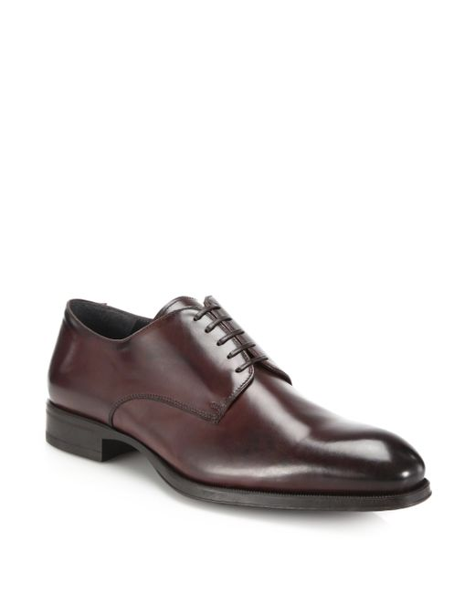 To Boot | Brown Buchanan Leather Derby Shoes for Men | Lyst