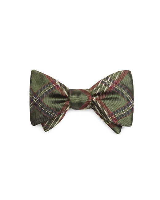 Brooks Brothers | Green Signature Tartan Bow Tie for Men | Lyst