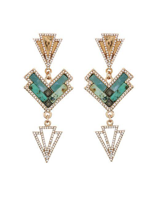 Lulu Frost | Green Ortiga Mosaic Statement Necklace | Lyst