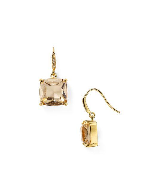 Carolee | Metallic Cushion Drop Earrings | Lyst