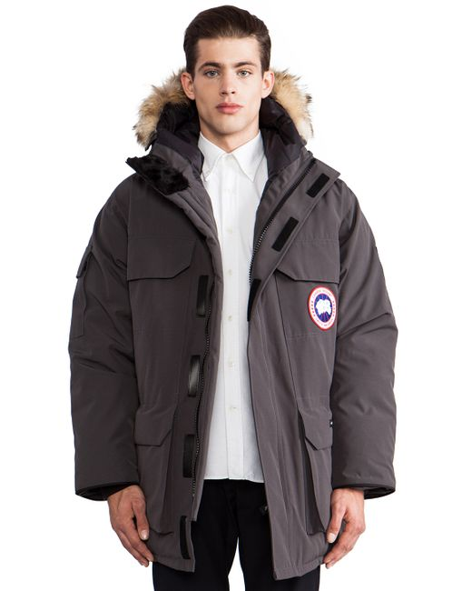 Canada Goose coats online shop - Canada goose Expedition Parka With Coyote Fur Collar in Gray for ...