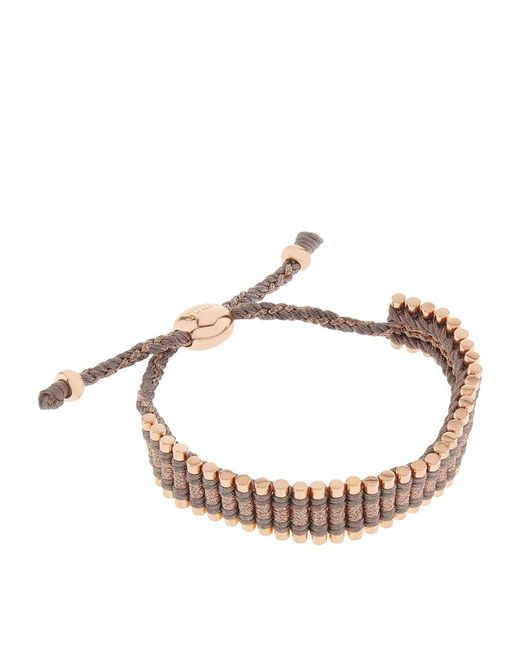 Links of London | Brown Friendship Bracelet | Lyst