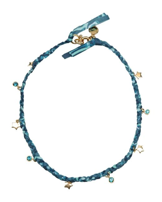 Marc By Marc Jacobs | Blue Braided Wrap Bracelet | Lyst