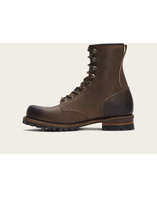 Frye | Brown Logger for Men | Lyst