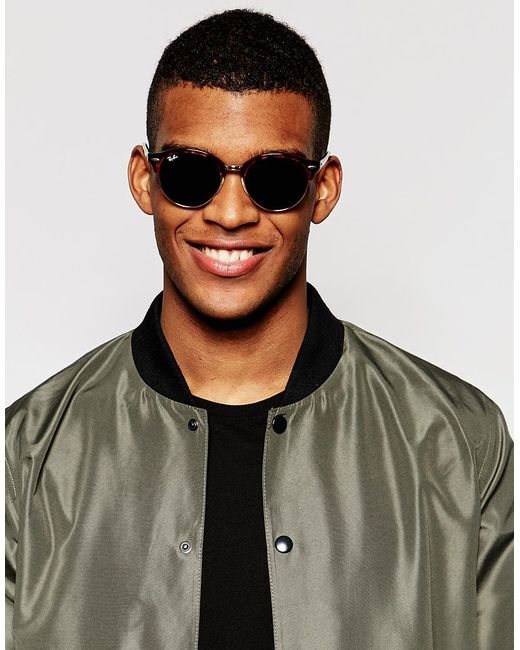 a1a5f090e17 Ray-ban Clubmaster Round Sunglasses Rb4246