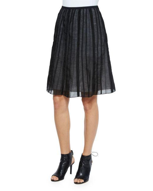 NIC+ZOE | Black Fluttery Batiste Flirt Skirt | Lyst