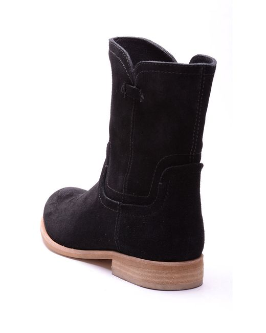 Splendid   Black Palisade Suede Boots   Lyst