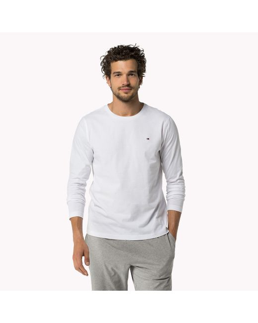 Tommy Hilfiger | White 8 T-shirt for Men | Lyst