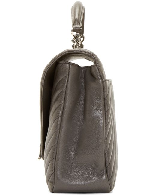 079048f7a36f saint laurent college monogram shoulder bag red - Ecosia