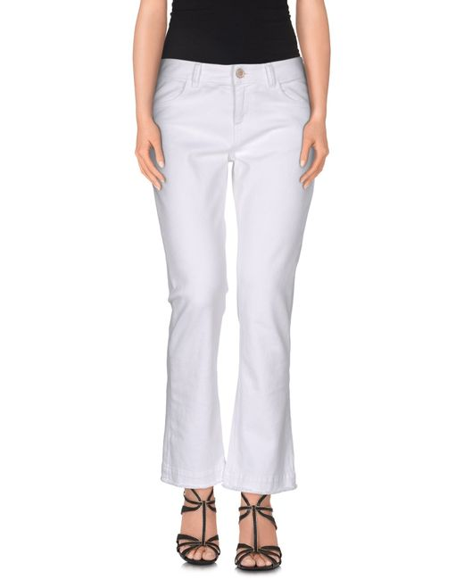 Jucca | White Denim Trousers | Lyst