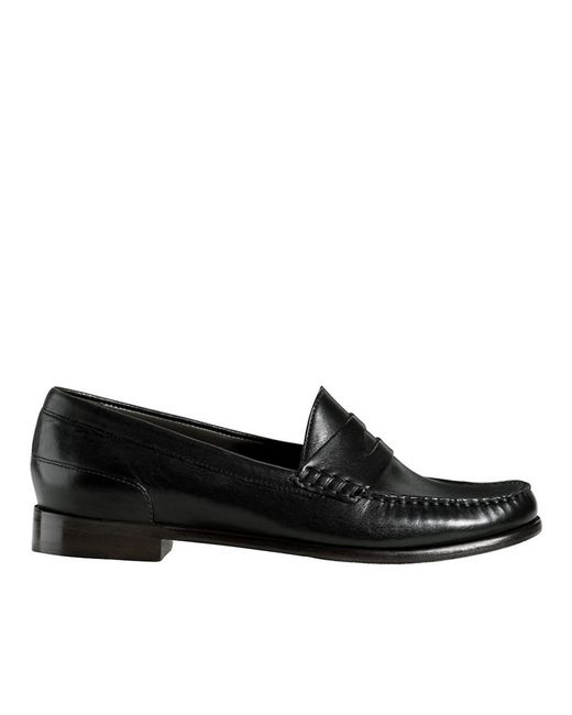 Cole Haan | Black Laurel Leather Moccasins | Lyst