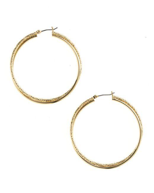 Anne Klein | Pink Hoop Earrings | Lyst