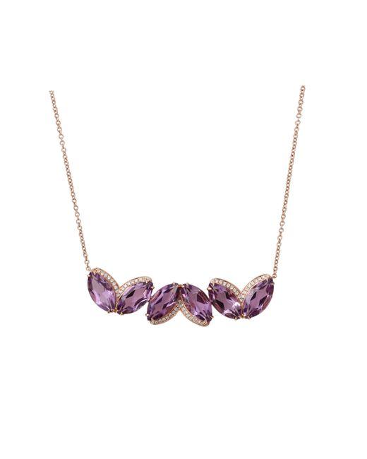 Dana Rebecca | Purple Lindsay Allison Amethyst Necklace | Lyst