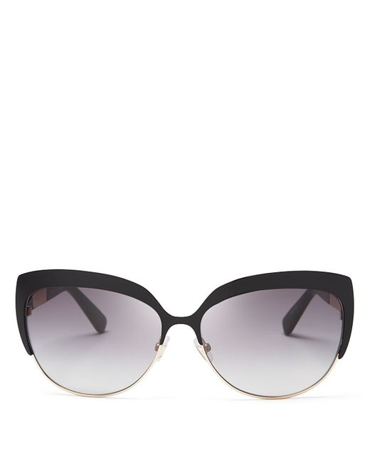 Kate Spade | Black Raelyn Cat Eye Sunglasses, 59mm | Lyst