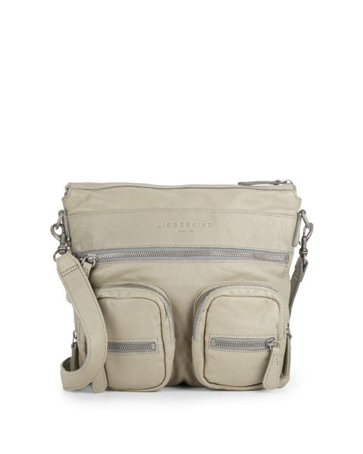 Liebeskind | Natural Anny Leather Crossbody Bag | Lyst