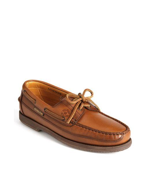 Mephisto Men S Hurrikan Boat Shoe