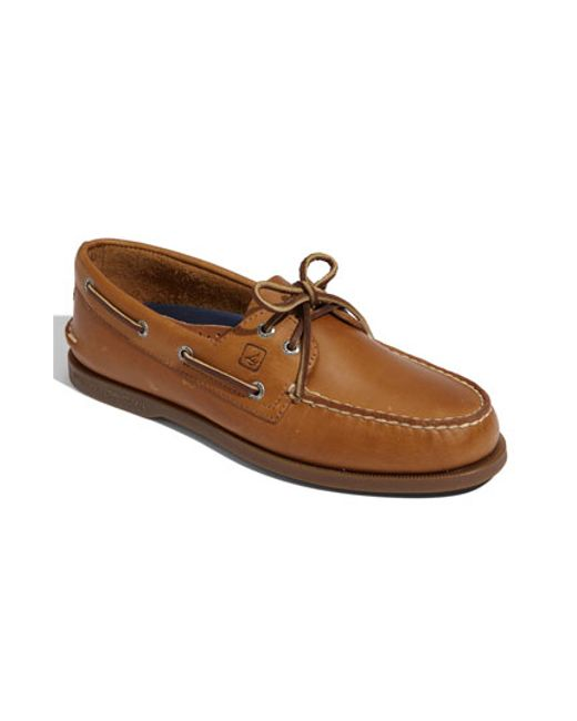 Sperry Top Sider Authentic Original  Eye Boat Shoe Sahara