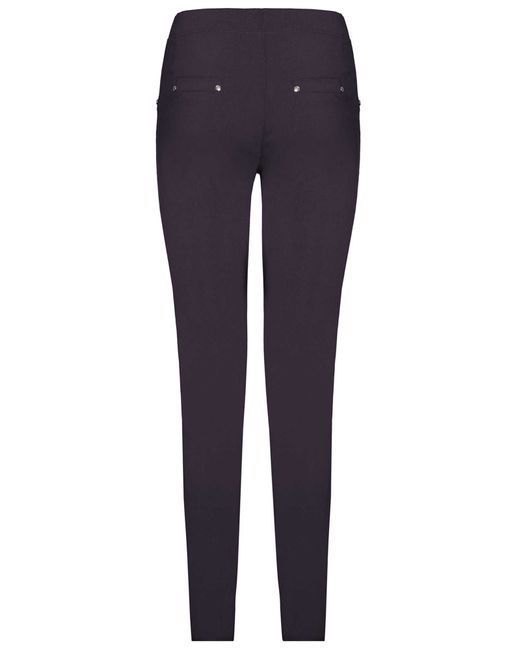James Lakeland | Blue Plain Stretch Trousers | Lyst