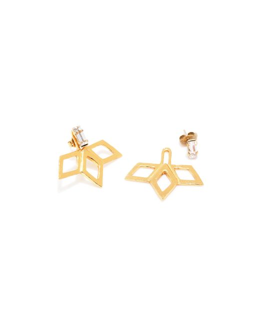 Bing Bang | Yellow Temple Ray Studs | Lyst