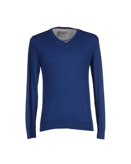 Obvious Basic | Blue Sweater for Men | Lyst