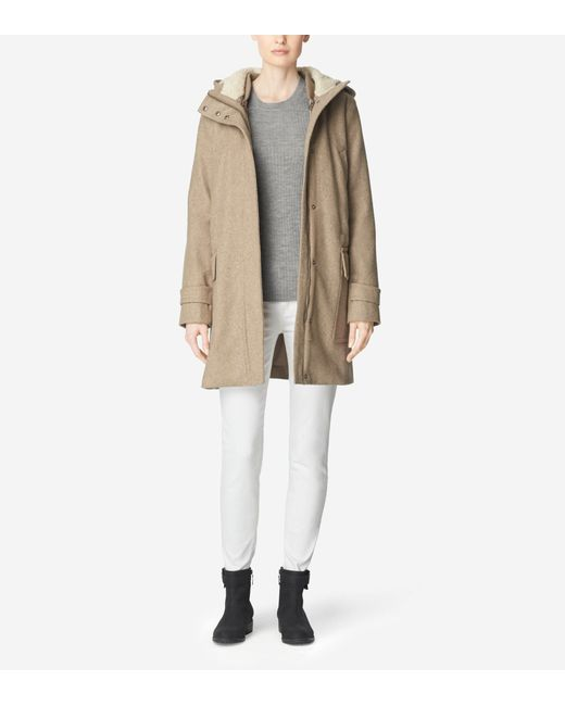 Cole Haan | Natural 4-in-1 Hooded Parka | Lyst