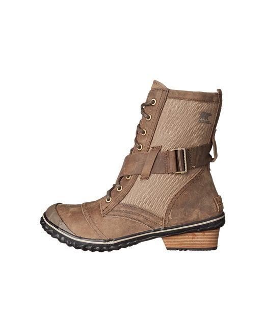 Sorel | Brown Slimboot™ Lace | Lyst