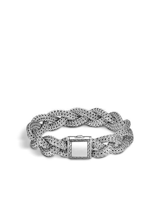 John Hardy | Metallic Braided Chain Bracelet | Lyst