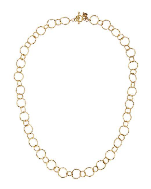 Armenta | Metallic 18k Yellow Gold Circle Link Necklace | Lyst