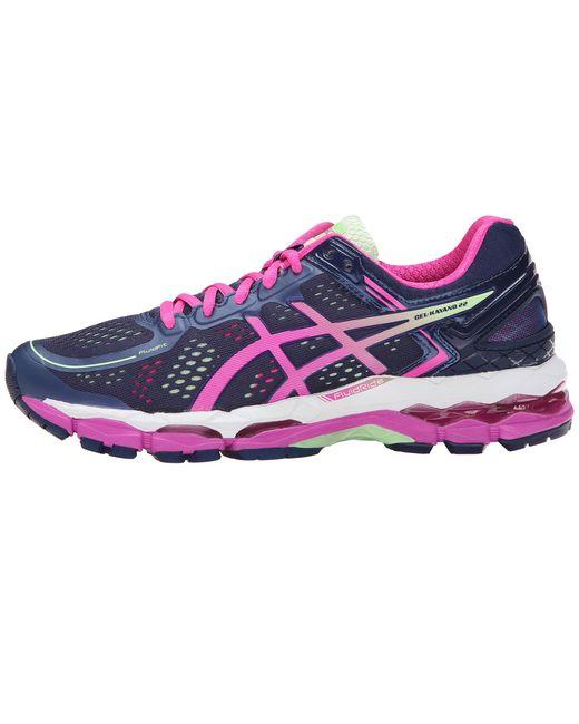 Asics   Gel-kayano 22 Women D Round Toe Synthetic Blue Running Shoe   Lyst