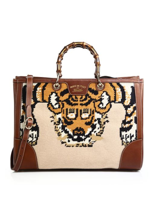 9bddd728ca4c Gucci Tote With Tiger | Stanford Center for Opportunity Policy in ...