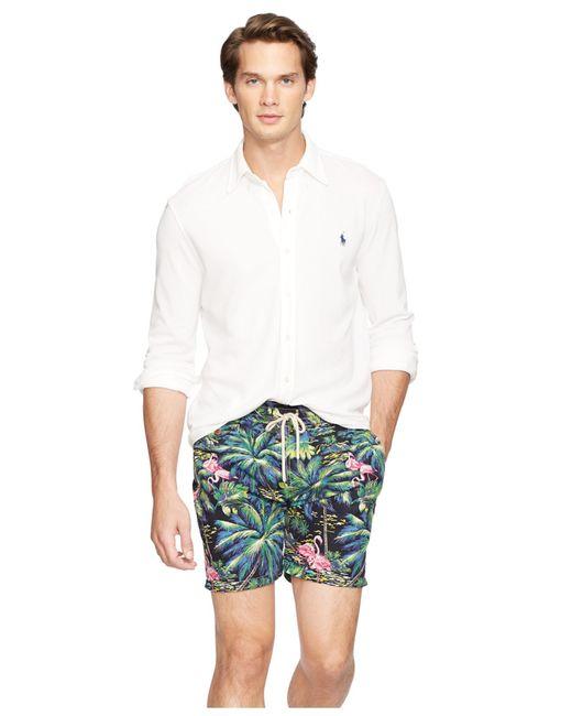 Polo ralph lauren featherweight mesh button down shirt in for Polo ralph lauren casual button down shirts
