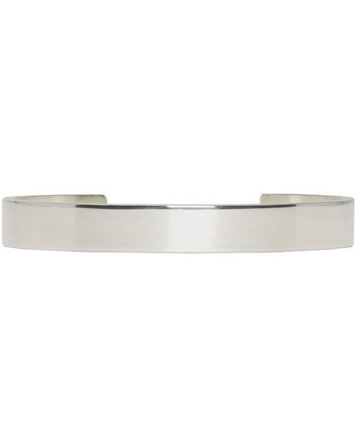 Le Gramme | Metallic Silver Le 21 Grammes Cuff | Lyst