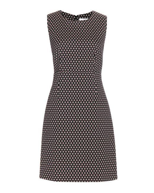 Diane von Furstenberg | Black Carrie Two Printed Dress | Lyst