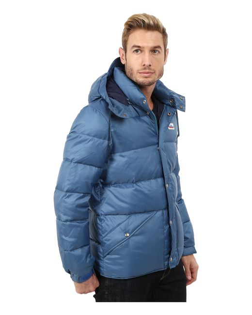 Penfield | Blue Bowerbridge Down Insulated Hooded Jacket for Men | Lyst