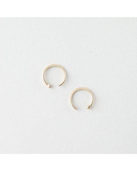 Melissa Joy Manning   Metallic Hug Earring - 14k Gold   Lyst