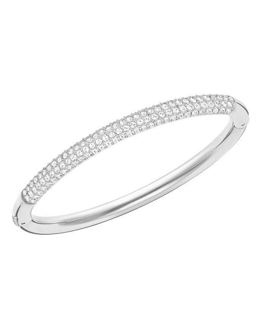 Swarovski | Metallic Stone Mini Bangle | Lyst