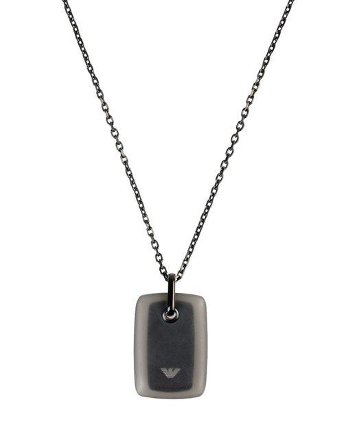 Emporio Armani | Metallic Necklace for Men | Lyst