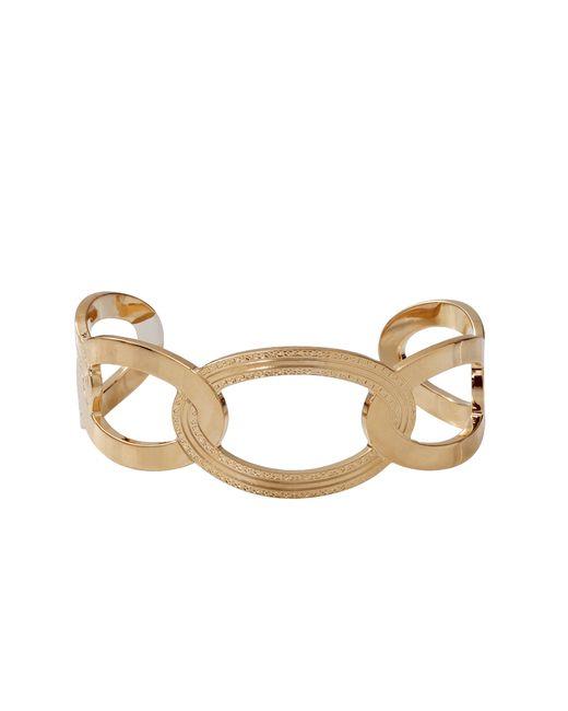 Rebecca   Metallic Elizabeth Circle Cuff Bracelet   Lyst