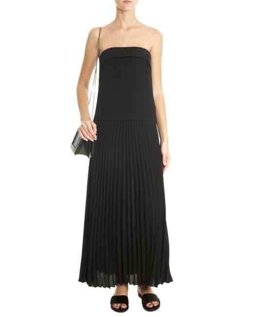 A L C Brock Maxi Dress In Black Lyst