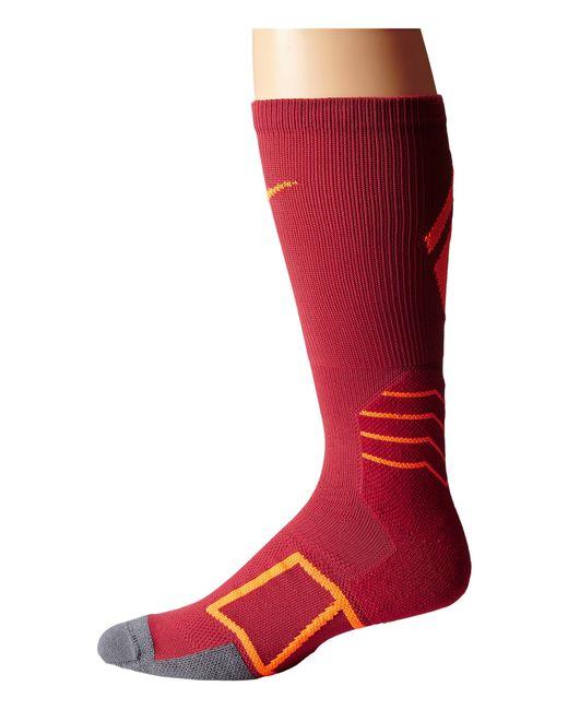 Nike | Red Elite Baseball Crew Sock | Lyst