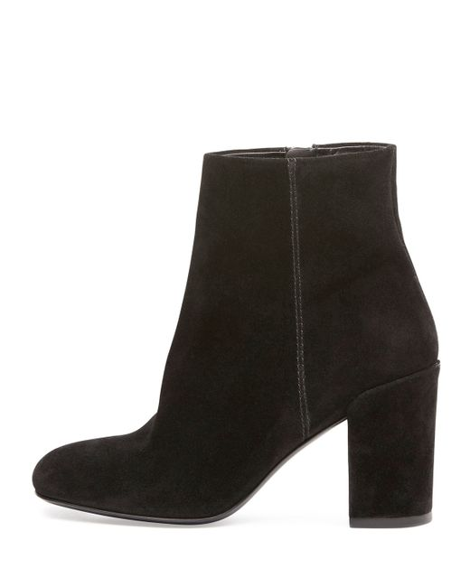 wang hana suede ankle boots in black save 50