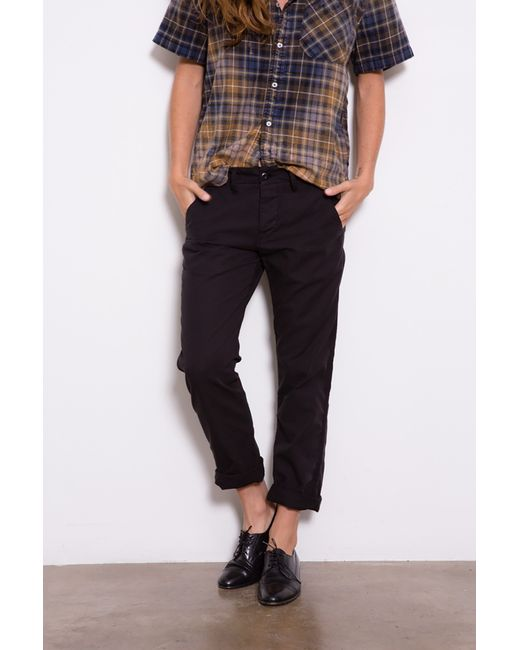 NSF | Black Edith Pants | Lyst