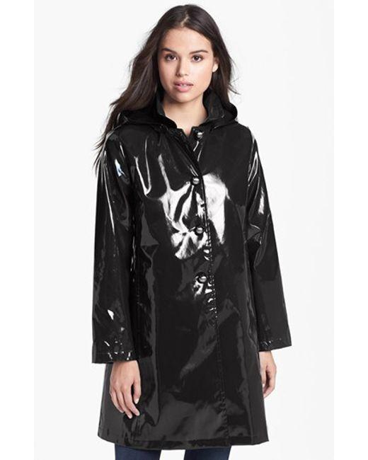 Jane Post | White 'princess' Rain Slicker With Detachable Hood | Lyst