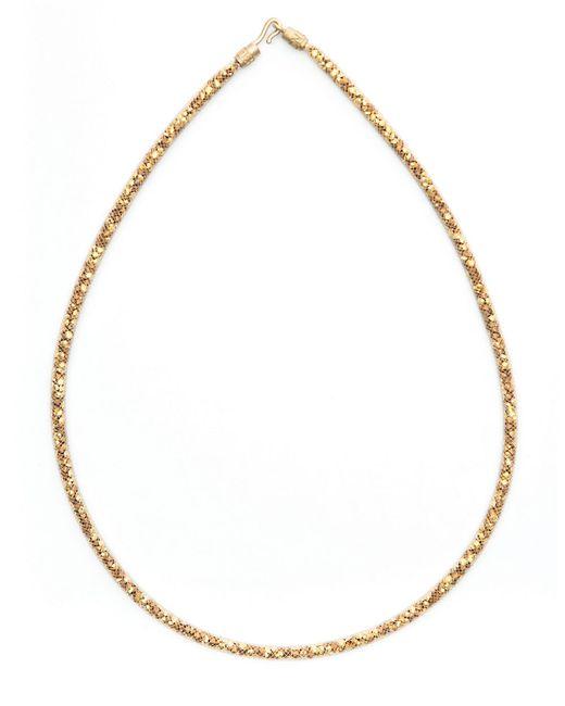 Peppercotton | Metallic Swarovski Crystal Necklace- 16 In | Lyst