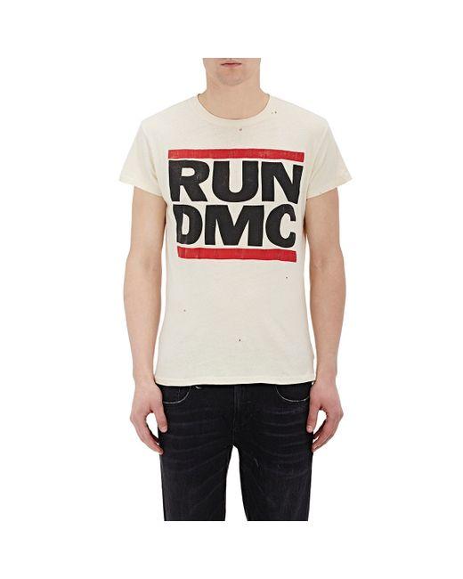 madeworn men 39 s run dmc t shirt in white for men lyst. Black Bedroom Furniture Sets. Home Design Ideas