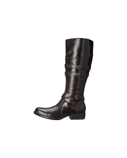 Born | Black Nerisa Knee-high Boot | Lyst